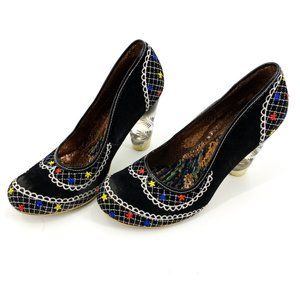 Irregular Choice Black Pumps 10